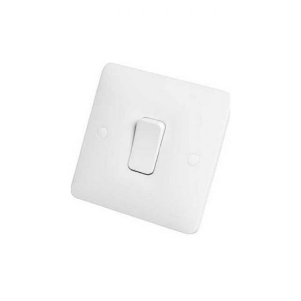 Hager Sollysta Light Switch 10a 1 Gang 2 Way